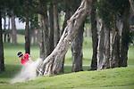 Yong-eun Yang of South Korea hits the ball during Hong Kong Open golf tournament at the Fanling golf course on 25 October 2015 in Hong Kong, China. Photo by Aitor Alcade / Power Sport Images