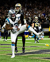 Photography of the Carolina Panthers v. The New Orleans Saints, during their Sunday afternoon game at the Mercedes-Benz Superdome, in New Orleans, LA.<br /> <br /> Charlotte Photographer - PatrickSchneiderPhoto.com