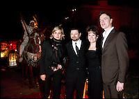 JOHN HURT ET SA FEMME, ANN REES MEYERS - HOMMAGE A LA DELEGATION BRITANNIQUE DU CINEMA - 8EME FESTIVAL INTERNATIONAL DU FILM DE MARRAKECH 2008.