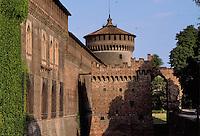 - castello Sforzesco....- Sforzesco castle