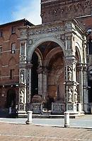 Siena:  Chapel--Palazza Pubblico 1344.  Photo '83.
