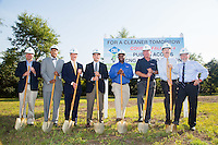 Champion Brands and Trilium Cng Ground breaking July 30 2014 Earl Benton