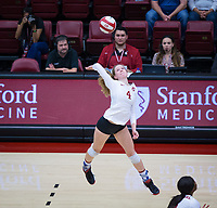 Stanford Volleyball W vs Washington State, October 12, 2018