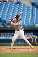 Thomas Dilandri (2) of Palo Verde High School in Las Vegas, NV during the Perfect Game National Showcase at Hoover Metropolitan Stadium on June 17, 2020 in Hoover, Alabama. (Mike Janes/Four Seam Images)