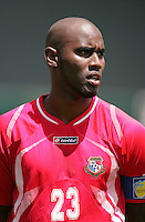Felipe Baloy. Guadeloupe defeated Panama 2-1 during the First Round of the 2009 CONCACAF Gold Cup at Oakland Coliseum in Oakland, California on July 4, 2009.