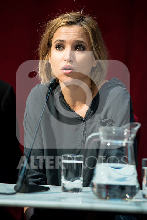 """Ana Carlota Fernandez during the presentation of the new production of the Spanish Theater """"Arte Nuevo""""  at spanish theater in Madrid, February 16, 2016<br /> (ALTERPHOTOS/BorjaB.Hojas)"""