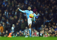 Gael Clichy of Manchester City during the Barclays Premier League match between Manchester City and Swansea City played at the Etihad Stadium, Manchester on December 12th 2015