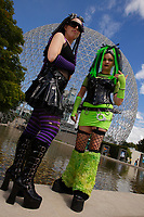 Montreal, CANADA, August 22, 2015 -  model release photo of Cosplayers