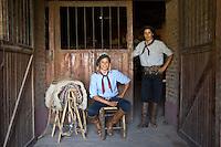 Gauchos, San Antonio de Areco, Argentina.