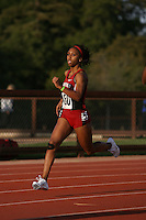 4 May 2008: Stanford Cardinal Ashley Menzies during Stanford's Payton Jordan Cardinal Invitational at Cobb Track & Angell Field in Stanford, CA.