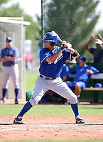Shawn Griffin / Kansas City Royals 2008 Instructional League..Photo by:  Bill Mitchell/Four Seam Images