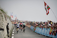 grupetto up the Tourmalet (HC/2115m/19km @7.4%)<br /> <br /> Stage 14: Tarbes to Tourmalet(117km)<br /> 106th Tour de France 2019 (2.UWT)<br /> <br /> ©kramon