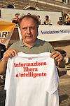 PAOLO CENTO<br /> MANIFESTAZIONE PER LA LIBERTA' DI STAMPA PROMOSSA DAL FNSI<br /> PIAZZA DEL POPOLO ROMA 2009