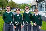 Luke O'Shea, Robert Murphy, Morgan O'Brien and Eanna O'Donoghue at the Monastery class opening on Friday