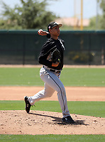 Hector Acosta - Chicago White Sox 2019 extended spring training (Bill Mitchell)