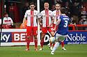 Matty Robson of Carlislefires a free-kick wide<br />  - Stevenage v Carlisle Untied - Sky Bet League 1 - Lamex Stadium, Stevenage - 21st September, 2013<br />  © Kevin Coleman 2013