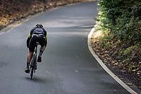 Grace Brown (AUS/Mitchelton-Scott) chasing the leader.<br /> <br /> 4th Liège-Bastogne-Liège-Femmes 2020 (1.WWT)<br /> 1 Day Race: Bastogne – Liège 135km<br /> <br /> ©kramon