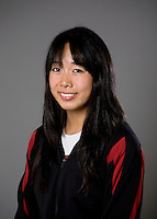 Wendy Lu of the Stanford synchronized swimming team.