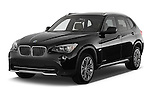 Front three quarter view of a 2012 Bmw X1 xDrive20d 5 Door Suv 2WD
