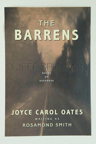THE BARRENS, by Joyce Carol Oates<br /> <br /> Carroll & Graf Publishers, Inc., New York<br /> Jacket Design:  Susan Shapiro<br /> <br /> Photo of a road scene in the New Jersey Pine Barrens available from Getty Images, search for image #10125358