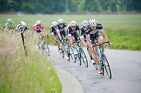 Stijn Vandenbergh (BEL/OPQS) leading his team and the peloton<br /> <br /> 2014 Belgium Tour<br /> (final) stage 5: Oreye - Oreye (179km)