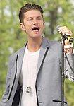 Marc Griffin singer for the American pop band 2am Club performs at Rockford Park in Wilmington, Delaware May 6, 2011..Copyright EML/Rockinexposures.com.