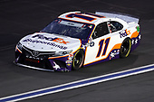 CONCORD, NORTH CAROLINA - MAY 24: Denny Hamlin, driver of the #11 FedEx SupportSmall Toyota, drives during the NASCAR Cup Series Coca-Cola 600 at Charlotte Motor Speedway on May 24, 2020 in Concord, North Carolina. (Photo by Chris Graythen/Getty Images)