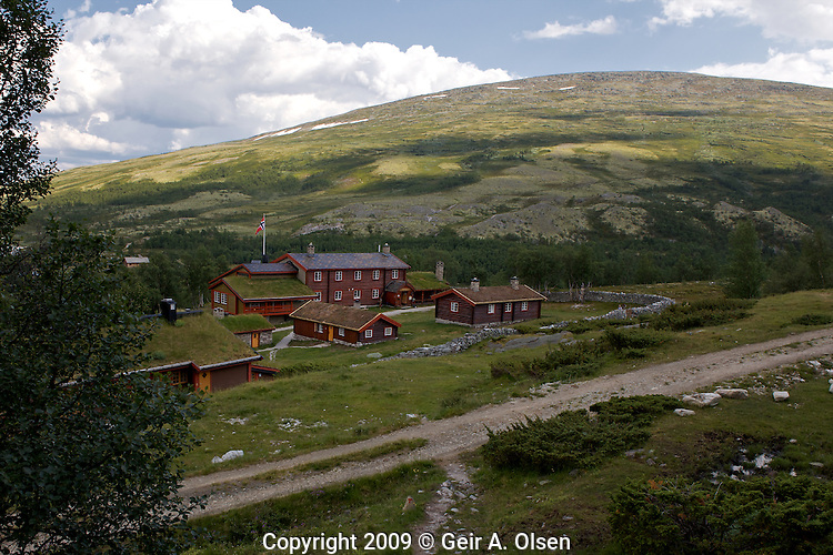 Pictures from Bjørnhollia and the trail to Døra?lseter in Rondane, Norway