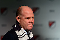 Philadelphia, PA - Friday January 19, 2018: Brad Friedel during the 2018 MLS SuperDraft at the Pennsylvania Convention Center.