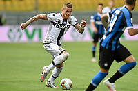 Juraj Kucka of Parma in action during the Serie A football match between Parma and FC Internazionale at stadio Ennio Tardini in Parma ( Italy ), June 28th, 2020. Play resumes behind closed doors following the outbreak of the coronavirus disease. <br /> Photo Andrea Staccioli / Insidefoto