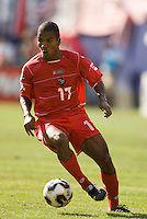 Panama's Luis Alfonso Henriquez. The United States defeated Panama 3-1 in a shoot out after a scoreless game to win the CONCACAF Gold Cup at Giant's Stadium, East Rutherford, NJ, on July 24, 2005.