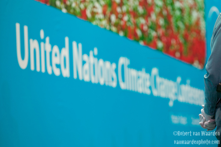 We need cooperation on Climate Change!. UNFCCC COP 14 (©Robert vanWaarden ALL RIGHTS RESERVED)