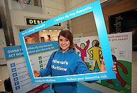 Pictured: Sara Manchipp Saturday 18 Saturday<br />Re: Welsh Government Dementia Risk Prevention Roadshow at the Quadrant Shopping Centre in Swansea, Wales, UK.