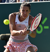 KEY BISCAYNE, FL - MARCH 30: Andrea Petkovic of Germany defeats Ekaterina Makarova of Russia during Day 8 of the Miami Open presented by Itau at Crandon Park Tennis Center on March 30, 2015 in Key Biscayne, Florida. <br /> <br /> <br /> People:  Andrea Petkovic<br /> <br /> Transmission Ref:  FLXX<br /> <br /> Must call if interested<br /> Michael Storms<br /> Storms Media Group Inc.<br /> 305-632-3400 - Cell<br /> 305-513-5783 - Fax<br /> MikeStorm@aol.com