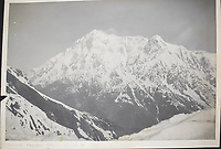 BNPS.co.uk (01202 558833)<br /> Pic: StroudAuctions/BNPS<br /> <br /> Pictured: Somervell's picture of Nanga Parbat which is the ninth-highest mountain <br /> <br /> Fascinating art work by a British mountaineer who twice climbed Mount Everest have sold at auction a century later for over £30,000.<br /> <br /> Theodore Howard Somervell took part in pioneering expeditions to the Himalayas in 1922 and 1924.<br /> <br /> He got to within 1,000ft of the summit, the highest point reached at that time, despite not using an oxygen tank.<br /> <br /> The skilled artist produced dozens of watercolours and sketches of the scenes he witnessed, including glacial peaks and camp life.<br /> <br /> His works sparked a bidding war when they were sold by a direct descendant with Stroud Auctions, of Gloucs.  An oil on canvas painting of Everest base camp in 1922 sold for £7,500, almost 40 times its estimate.