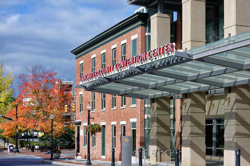 Convention Center exterior, Lancaster, Pennsylvania, USA