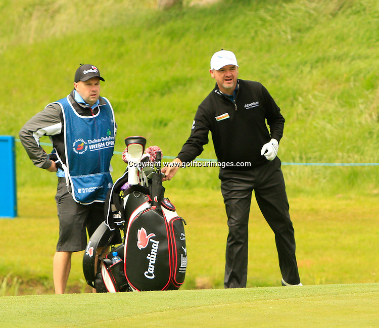 Paul LAWRIE (SCO)  during round one of the 2016 Dubai Duty Free Irish Open hosted by The Rory Foundation and played at The K-Club, Straffan, Ireland. Picture Stuart Adams, www.golftourimages.com: 19/05/2016
