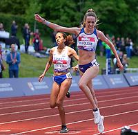 5th June 2021; Birmingham University Athletics Track, Birmingham, Midlands, England; European 10000 Metre Finals, British Olympic Trials 10000 Metre; Eilish McColgan wins the women's race