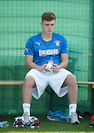 Lewis Macleod sits out training