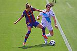Liga IBERDROLA. Game 26.<br /> FC Barcelona vs RC Deportivo: 9-0.<br /> Graham Hansen vs Patricia Lopez.