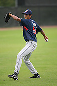 March 20th 2008:  Hector Rondon of the Cleveland Indians minor league system during Spring Training at Chain of Lakes Training Complex in Winter Haven, FL.  Photo by:  Mike Janes/Four Seam Images
