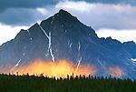 Blackhorn Peak, Tonquin Valley, Jasper National Park, Alberta, Canada
