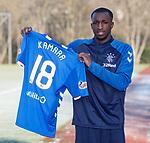 01.02.2019: Rangers training: Glen Kamara signs for Rangers