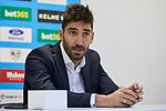 David Cobeno during the official presentation of Alvaro Garcia, Alvaro Medran and Jordi Amat at Vallecas Stadium in Madrid, Spain. August 24, 2018. (ALTERPHOTOS/A. Perez Meca)