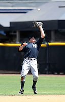March 26, 2010:  First Baseman Luke Murton of the New York Yankees organization during Spring Training at the Yankees Minor League Complex in Tampa, FL.  Photo By Mike Janes/Four Seam Images