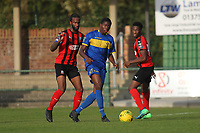 Peter Oyetunji of Romford during Romford vs Coggeshall Town, Bostik League Division 1 North Football at Rookery Hill on 13th October 2018