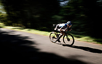 Max Walscheid (DEU/NTT) speeding down the Selle de Fromentel<br /> <br /> Stage 15 Lyon to Grand Colombier (175km)<br /> <br /> 107th Tour de France 2020 (2.UWT)<br /> (the 'postponed edition' held in september)<br /> <br /> ©kramon