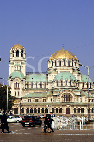 Sofia, Bulgaria. St Alexander Nevsky Cathedral.