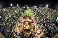Desfile de carnaval no sambódromo. Mangueira. Rio de Janeiro. 2009. Foto de Caetano Barreira.
