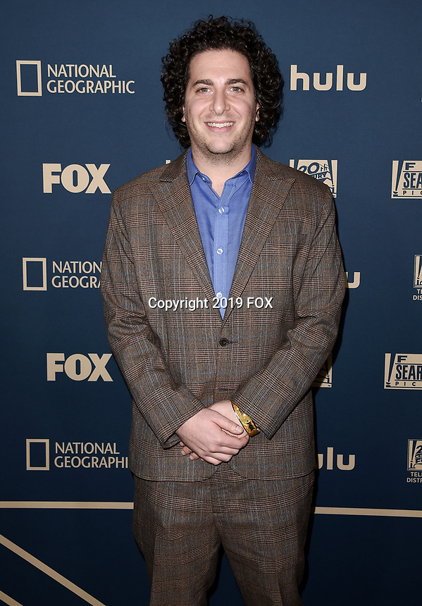 BEVERLY HILLS - JANUARY 6: Oliver Cooper attends the 2019 Fox Nominee Party for the 76th Annual Golden Globe Awards at the Fox Terrace on the Roof Deck of the Beverly Hilton on January 6, 2019, in Beverly Hills, California. (Photo by Scott Kirkland/Fox/PictureGroup)